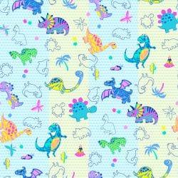Простынь на резинке, Динозаврики