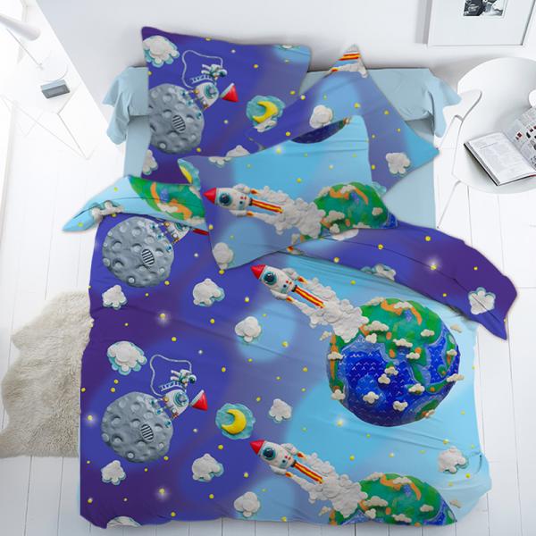 Детское постельное белье, Космонавтики