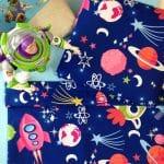 Детское постельное белье для мальчика, Космопорт