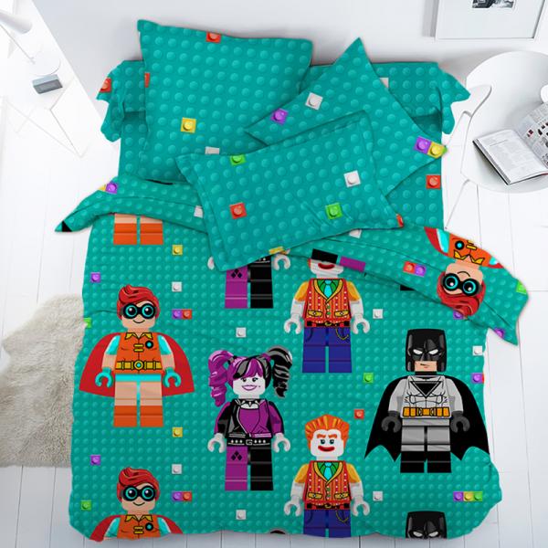 Детское постельное белье, Лего-Ниндзяго