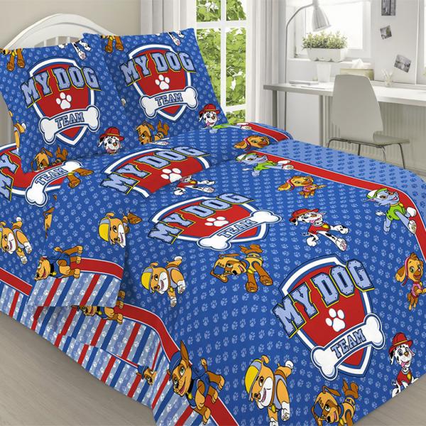 Детское постельное белье, Щенячий патруль