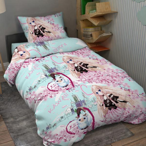 Подростковое постельное белье, Анимэ