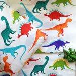 Лови хвостатых! Детские комплекты с динозаврами теперь в поплине