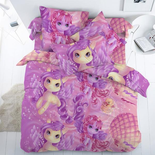 Постельное белье для девочки, Магия Пони