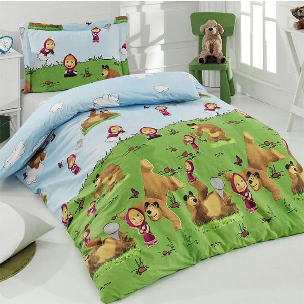 Детское постельное белье, Маша и Медведь