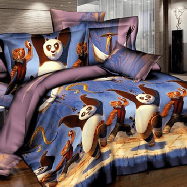 Детское постельное белье, Панда Кунг Фу