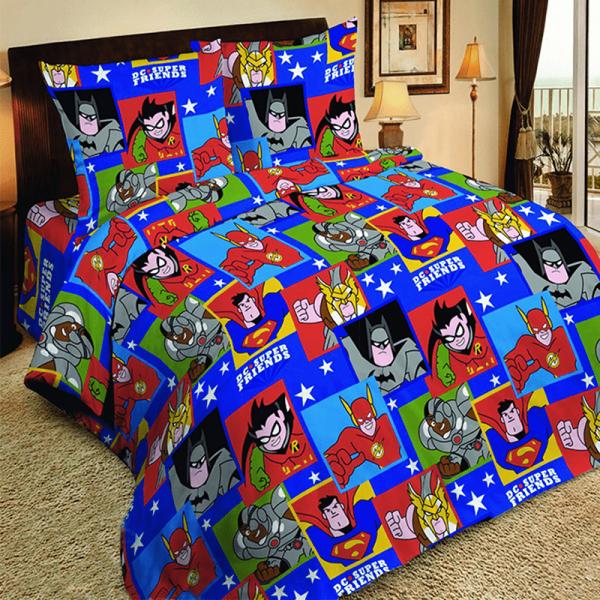 Детское постельное белье, Супергерои