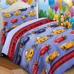 Детское постельное белье, Тачки