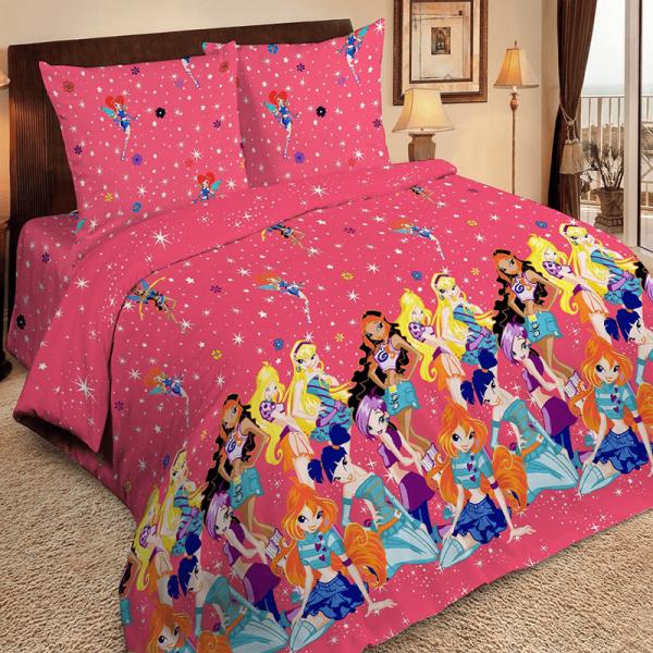 Детское постельное белье, Винкс